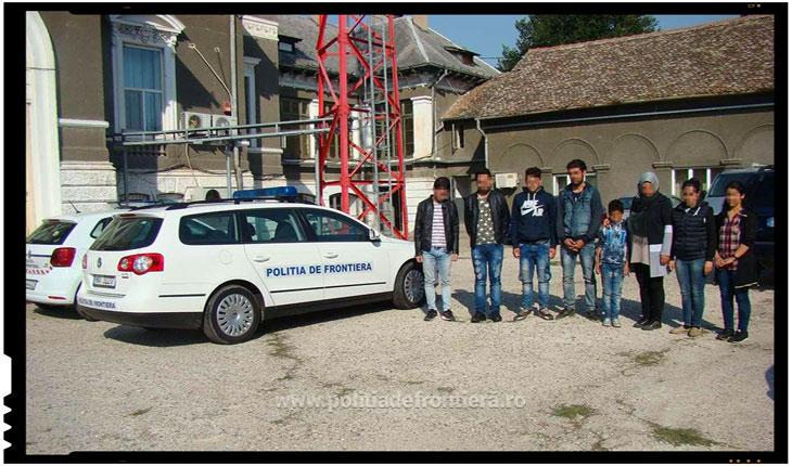 Noua sirieni au incercat sa treaca ilegal Dunarea spre Romania, ajutati de o calauza bulgara, Foto: politiadefrontiera.ro
