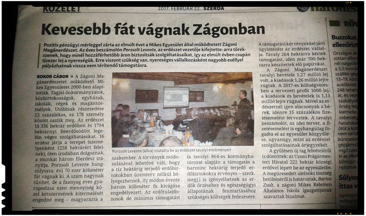 Primarul UDMR din Zagon, spaima intregii comunitati. Pana si presa de limba maghiara vorbeste despre coruptia de la Zagon