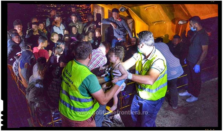 Peste 100 de migranti vor fi expulzati in curand din România, Foto: politiadefrontiera.ro