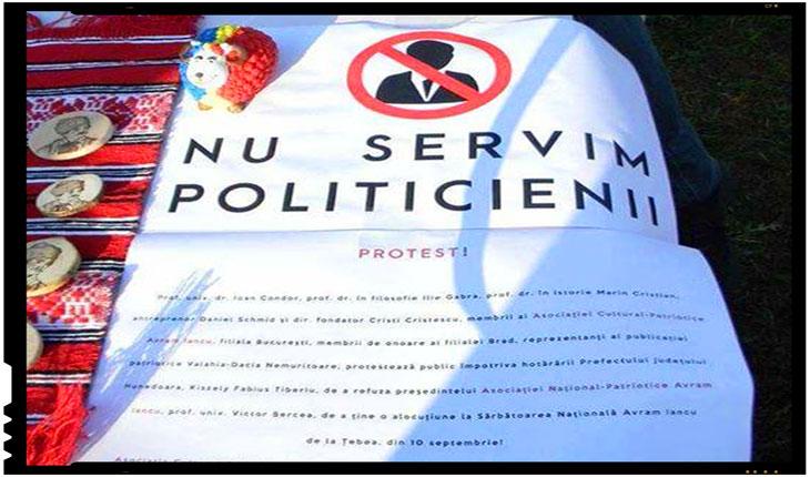 """Politicieni """"discriminati"""" la Tebea. Politicienii romani au plecat huiduiti, flamanzi si cu coada intre picioare de la Tebea!, Foto: Facebook"""