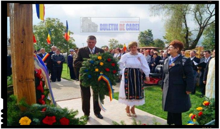 Solidaritate si dăruire: troiţă ridicată cu sprijinul comunităţii din Lucăceni, Foto: BuletindeCarei.ro