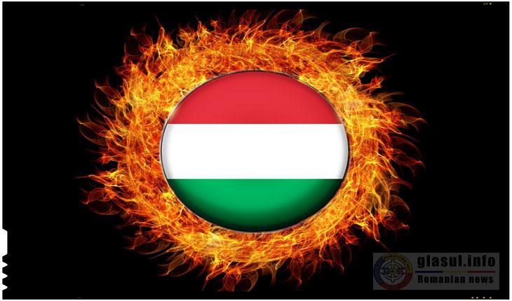 Un steag al Ungariei a fost ars inaintea meciului de la Eurobasket