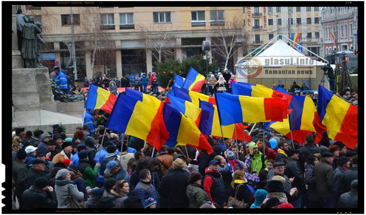 Manifestarile de pe 24 Ianuarie 2015 de la IASI, Foto: Fandel Mihai