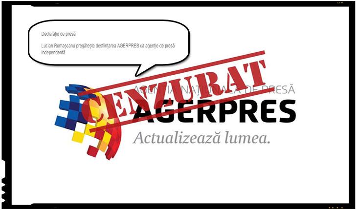 Se pregătește desființarea AGERPRES ca agenție de presă independentă?, Foto: facebook.com/alex.giboi