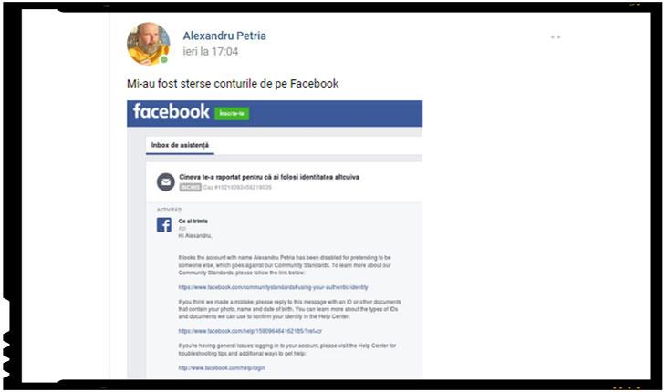 """Cenzura ia amploare! Scriitorul Alexandru Petria:  """"Azi suntem cenzurați, mâine o să fim arestați!"""""""