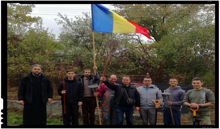 Din nou la Vârghiș cu echipa Frăției Ortodoxe Sfântul Mare Mucenic Gheorghe, Foto: Mihai Tirnoveanu