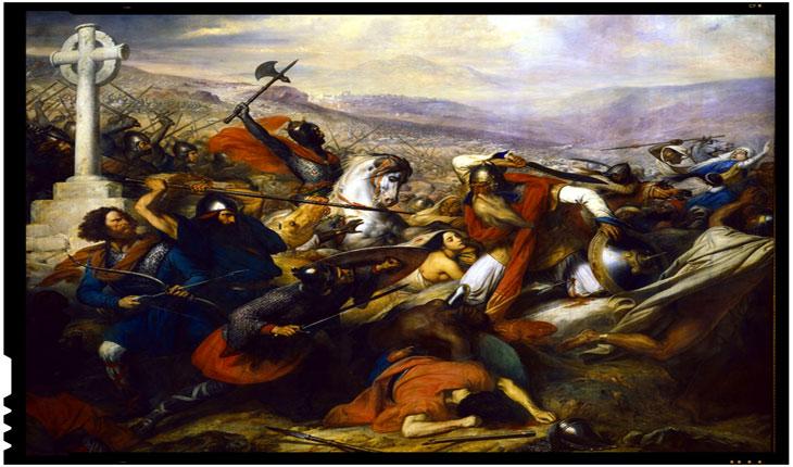La 10 octombrie 732 armată a francilor condusă de Carol Martel respingea invazia musulmana. Acum insa, Europa o accepta cu bratele deschise