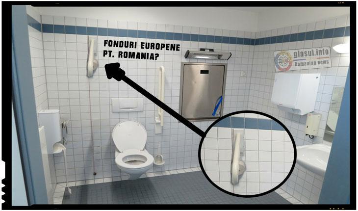 Pentru Romania, fondurile europene au fost mai mereu ca un sul de hartie igienica plasat pe tavanul din baie!