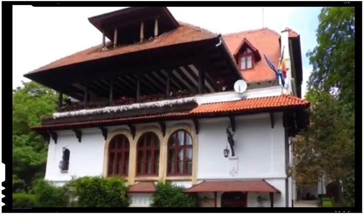 """Ministerul Culturii cumpara in cele din urma conacul Brătianu - Florica (""""Vila Florica""""), Foto: Arges TV"""