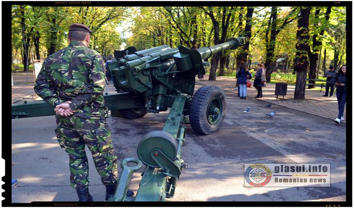 (FOTOREPORTAJ) Ziua Armatei Romaniei sarbatorita la Iasi prin niste manifestari speciale, Foto: Fandel Mihai