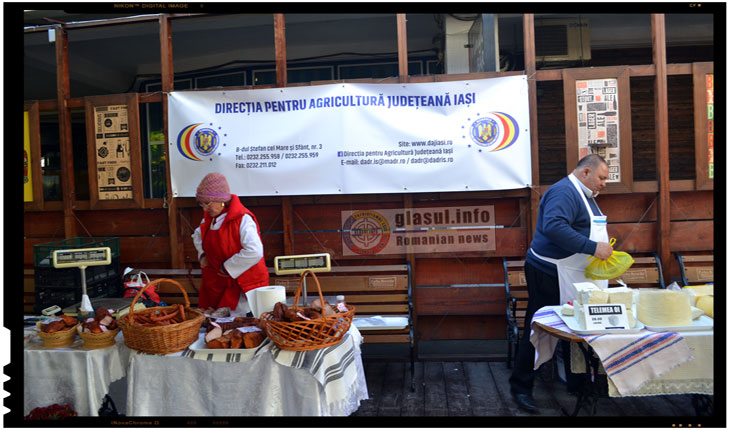 Ziua produselor agroalimentare românești a fost sarbatorita si la Iași, Foto: Fandel Mihai