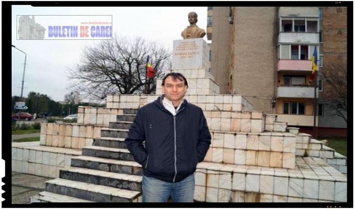 Andrei Păunescu denigrat de finul primarului din Carei pentru ca sustine pastrarea bustului lui Avram Iancu, Foto: Buletin deCarei.ro