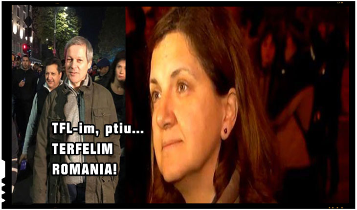"Daniel Catalin Zamfir, senator PNL: ""Tare mi-as dori sa-i intrebe careva pe Ciolos si Pruna, ce cauta tocmai ei in strada?"""