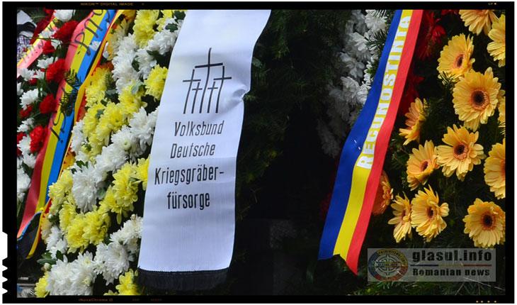 Ziua Eroilor Germani a fost comemorata la IASI, Foto: Fandel Mihai