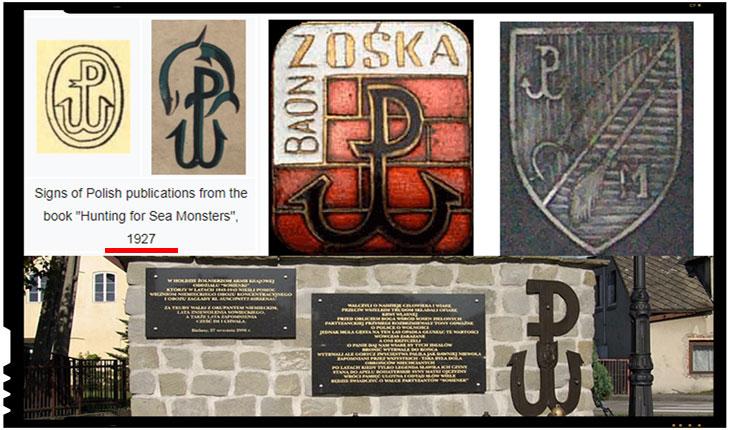 "Kotwica : Armia Krajowa (Armata Teritorială), abreviată ""AK"""