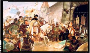 1 Noiembrie 1599: Mihai Voievod Viteazul intră triumfător în Alba Iulia și unește Transilvania cu Țara Românească!