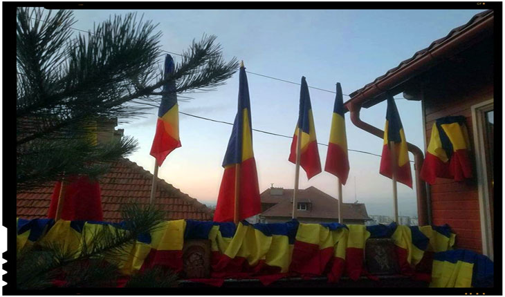 """Mihai Tîrnoveanu: """"Răspunsul meu la cei care m-au blocat și au șters postarea cu îndemnul la mobilizarea si organizarea pentru strângerea celor O Mie de steaguri tricolore ce vor ajunge de 1 Decembrie la Tg.Secuiesc"""""""