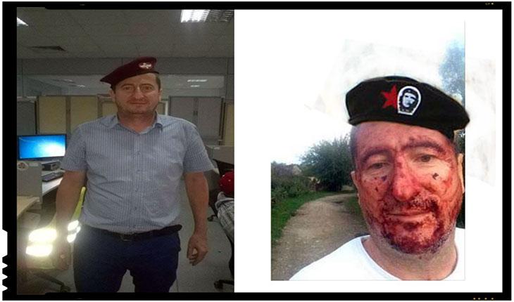 Grigore Cartianu, unul dintre jurnalistii care incurajeaza prostestele, Foto: trucaj