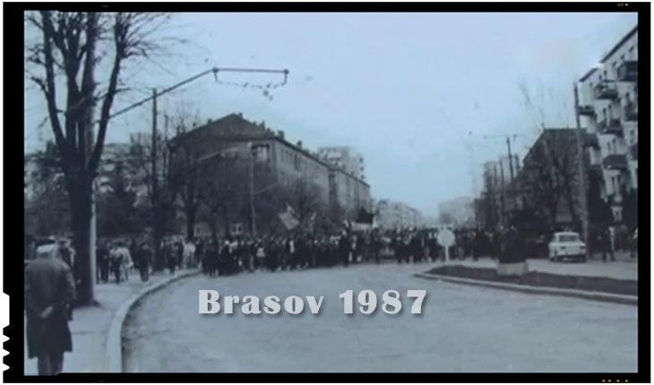 Revolta din 1987 de la Brasov a fost o repetitie a papusarilor pentru punerea in scena a loviturii de stat din decembrie 1989?, Foto: captura video TVR