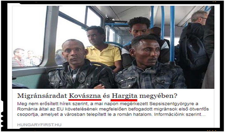 Presa maghiara acuza un acord intre Romania si George Soros privind relocarea imigrantilor in Harghita si Covasna pentru a santaja Ungaria, Foto: hungaryfirst.hu