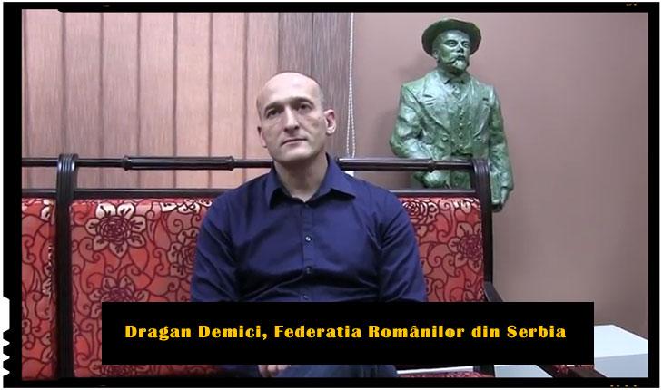 Dragan Demici , Moment istoric: s-a infiintat Federația Românilor din Serbia, Foto: captura video youtube JURNAL ROMÂNESC
