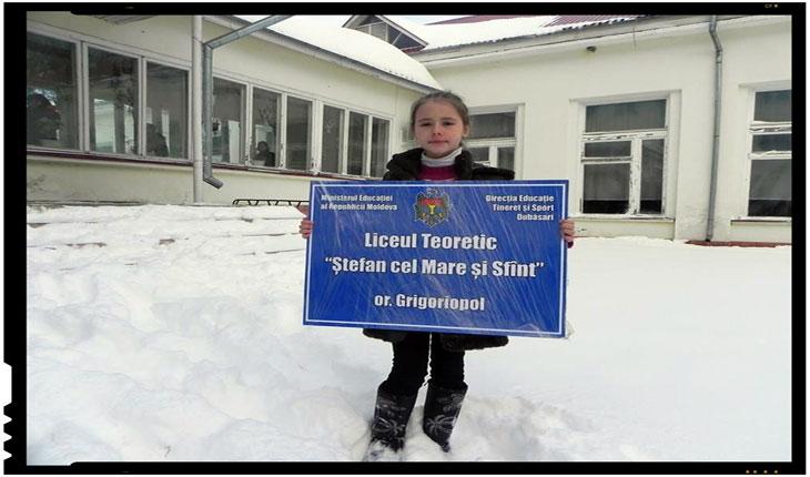 Scoala din Grigoriopol, Foto: facebook.com/valentin.buda