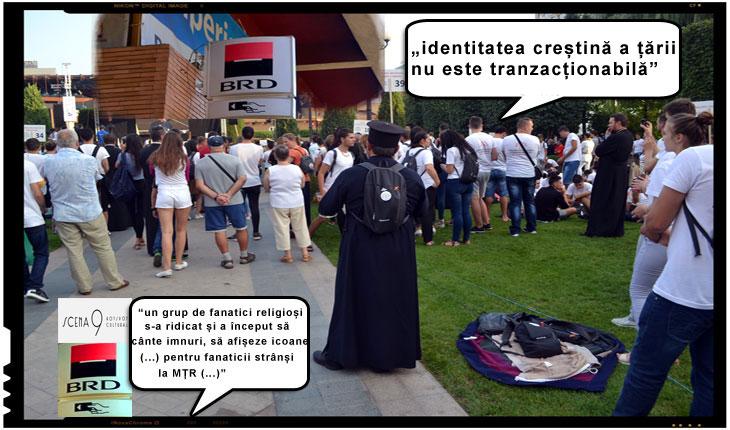 """Zece ONG-uri din România anunta ca boicoteaza serviciile BRD: """"identitatea creștină a țării nu este tranzacționabilă"""""""
