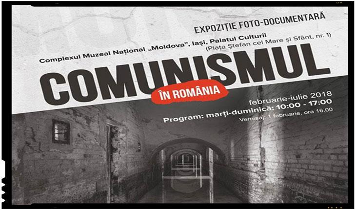 """""""Comunismul în România"""". Expoziție foto-documentară la IASI, Foto: facebook.com"""