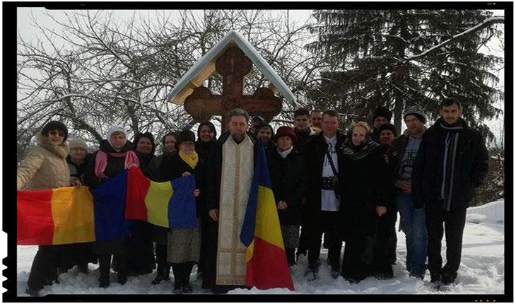 Duminica Ortodoxiei la Vârghiș, jud.Covasna, Biserica Ortodoxă din 1807, supraviețuitoarea prigoanei, Foto: Mihai Tirnoveanu