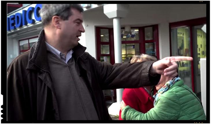 """Markus Soeder, ministrul de Finanţe din landul Bavaria: """"România şi Bulgaria nu au ce căuta în zona euro!"""", Foto: captura video spiegeltv"""