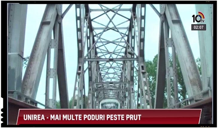 Unirea face pasi marunti dar siguri: se solicita refacerea podurilor de peste Prut distruse de sovietici, Foto: 10tv.md