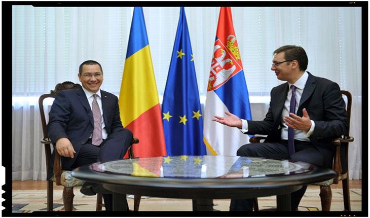Victor Ponta si premierul Serbiei Vucici, Legatura incredibila a lui Victor Ponta cu Serbia!, Foto: gov.ro
