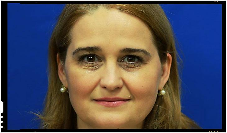 """Deputata Beatrice Tudor: """"Cristian Preda uită sau ignoră faptul că în mai 2017 Jean-Claude Juncker a spus că MCV trebuie ridicat în 2019"""", Foto: cdep.ro"""