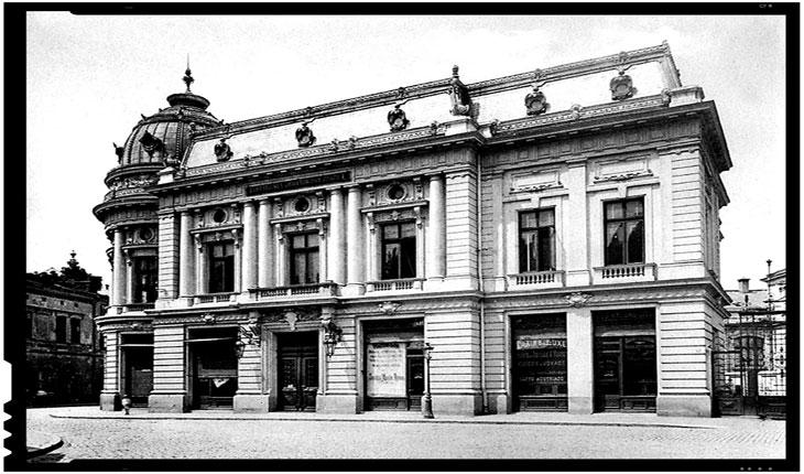 La 14 martie 1895 era inaugurata Biblioteca Centrală Universitară din București