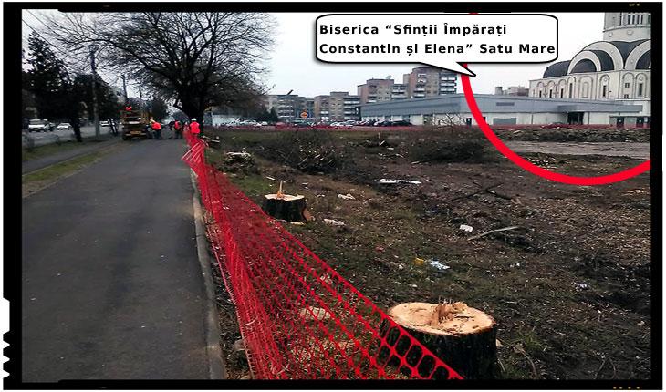 Inca o batjocura la adresa românilor din Satu Mare: primarul a acordat autorizatie de construire a unui supermarket lipit de o biserica ortodoxa, Foto: facebook.com/alexandru.vasile.35