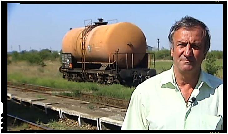 """Românul care a oprit trenul NATO, considerat erou de catre sarbi: """"Au trimis o telegrama de la Bucuresti in care imi cereau ca trenul sa fie expediat nefrancat... Am refuzat!"""", Foto: captura video prva.rs"""