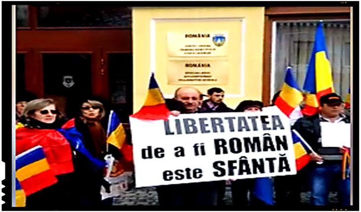 (VIDEO) Si la 100 de ani de la Marea Unire românii din Ardeal isi mai cauta inca libertatea!, Foto: captura video Facebook
