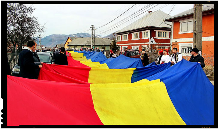 Pentru o zi, Măgura Ilvei a devenit un important centru al unionismului!, Foto: facebook.com/emilradu.moldovan/
