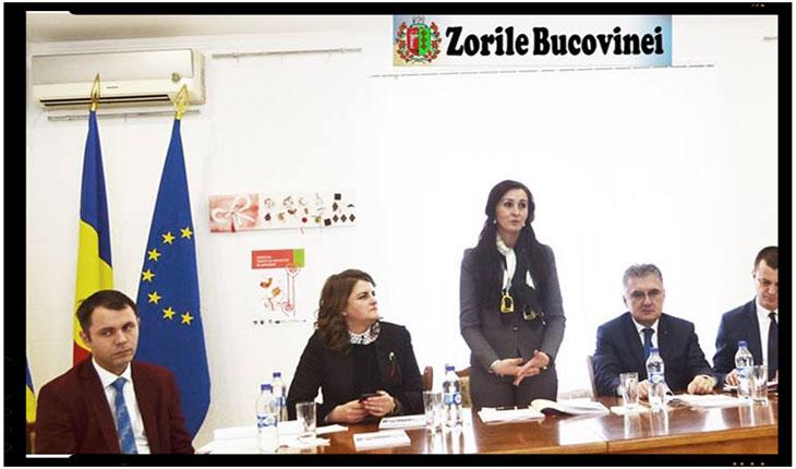 """NATALIA INTOTERO: """"ROMÂNII DIN NORDUL BUCOVINEI RĂMÂN O PRIORITATE PENTRU MINISTERUL NOSTRU"""", Foto: ZorileBucovinei.com"""