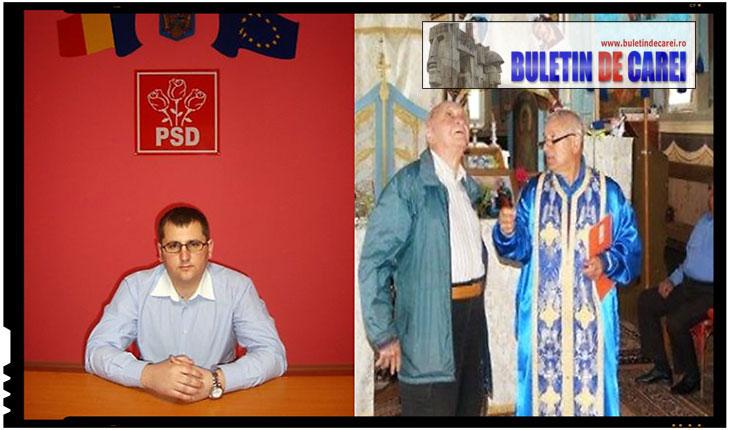 Santaj si tradare din partea PSD la Carei! Un politician român recurge la santaj pentru a determina un preot ortodox sa accepte demersurile sale, Foto: BuletindeCarei.ro