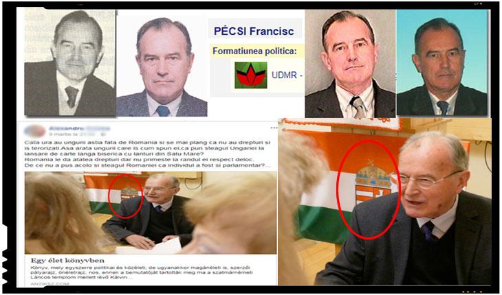 Un fost deputat al statului român face o lansare de carte cu steagul Ungariei la Satu Mare!, Foto: cdep.ro , facebook