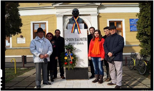 """Românii din Carei cunosc """"greutatea"""" zilei de 15 martie: """"Nu vă nemţiţi, nu vă ruşiţi, nu vă unguriţi nici voi, rămâneţi credincioşi neamului şi limbii voastre"""", Foto: facebook.com/ciuta.ilie/"""