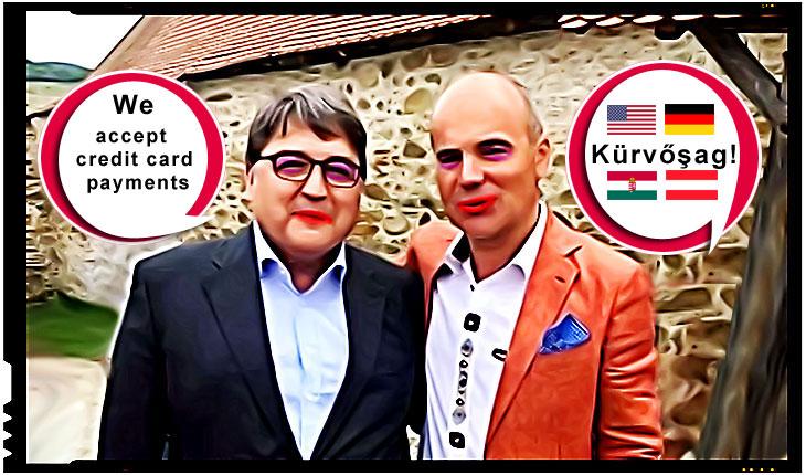 Emil Hurezeanu si Rares Bogdan, Foto: facebook / trucaj