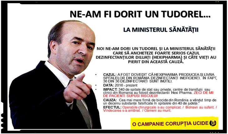 """Dupa ce i-au atacat timp de cateva luni familia, TFL-istii surprind acum: """"NE-AM FI DORIT UN TUDOREL..."""", Foto: facebook.com/coruptia.ucide"""