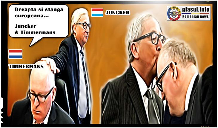 Jean-Claude Juncker, el insusi implicat intr-un dosar penal, o sustine cu inversunare L.C. Kovesi?