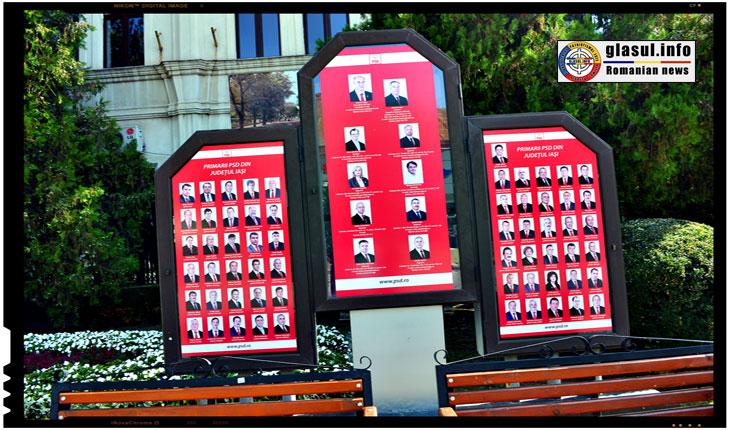 Panoul din fata sediului PSD Iasi a fost vandalizat. Organizatia judeteana condamna gestul huliganic