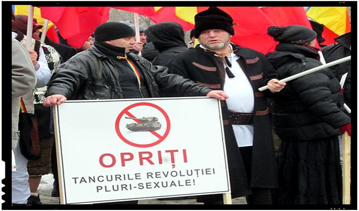 """,""""Opriti tancurile revolutiei pluri-sexuale"""", Foto: facebook"""