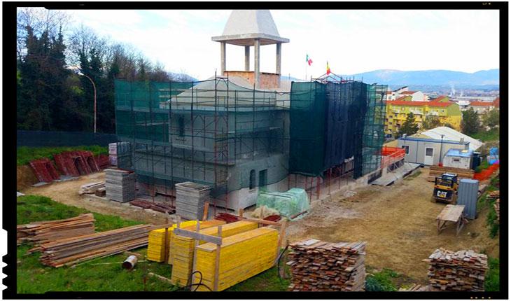 Biserica ortodoxa româna din Pescara, foto: facebook