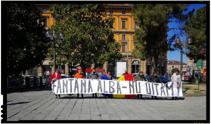 Evenimentul desfasurat in data de 1 aprilie 2018 la Bologna de catre Partidul Noua Dreapta filiala Italia, Foto: nouadreapta.it
