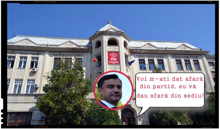 Scandal la Iași! Primarul Mihai Chirica, proaspăt exclus din PSD, vrea să evacueze PSD Iași din sediul central